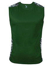 Badger 4532 Men Digital Sleeveless Tight Tee at GotApparel