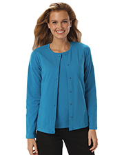 Blue Generation BG4701 Women LADIES LONG SLEEVE CARDIGAN  -  BERRY 2 EXTRA LARGE SOLID at GotApparel