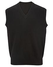 Edwards 4701 Men V-Neck Cotton Sweater Vest at GotApparel