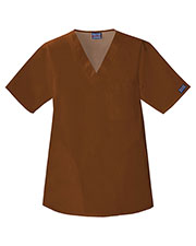 Cherokee Workwear 4780 Unisex V-Neck Top at GotApparel