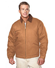 Tri-Mountain 4800 Men Pathfinder Work Jacket With Quilted Lining at GotApparel