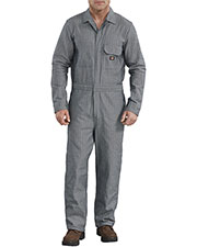 Dickies 48977 Unisex Cotton Coverall - Fisher Stripe at GotApparel