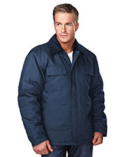 Tri-Mountain 4900 Men Canyon Work Jacket With Quilted Lining at GotApparel