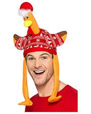 Smiffys 49134 Unisex Turkey Hat, Red at GotApparel
