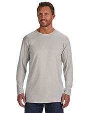 Hanes 498L Men 4.5 Oz. 100% Ringspun Cotton Nano-T Long-Sleeve T-Shirt at GotApparel