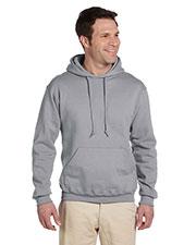 Jerzees 4997 Men 9.5 Oz. 50/50 Super Sweats Nublend Fleece Pullover Hood at GotApparel