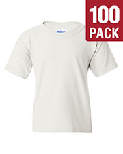 Gildan G500B Boys Heavy Cotton 5.3 Oz. T-Shirt 100-Pack at GotApparel