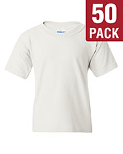 Gildan G500B Boys Heavy Cotton 5.3 Oz. T-Shirt 50-Pack at GotApparel