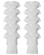 Gildan G500L Women Heavy Cotton 5.3 Oz. Missy Fit T-Shirt 10-Pack at GotApparel