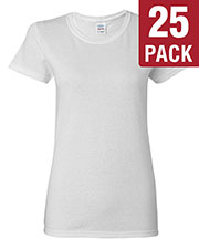 Gildan G500L Women Heavy Cotton 5.3 Oz. Missy Fit T-Shirt 25-Pack at GotApparel