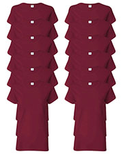 Gildan G500L Women Heavy Cotton 5.3 Oz. Missy Fit T-Shirt 12-Pack at GotApparel