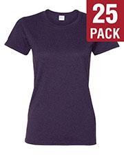 Gildan G500L Women Heavy Cotton 5.3 Oz. Missy Fit T-Shirt 25-Pack at GotApparel