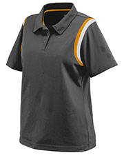 Augusta 5048 Women Genesis Sport Polo Shirt With Shoulder Inserts at GotApparel