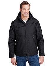 Dri Duck 5065 Men Storm Shield TM Hooded Canvas Yukon Jacket at GotApparel
