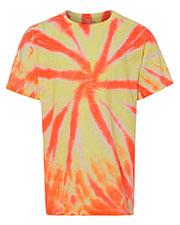 Dyenomite 20GWY Girls Glow in the Dark T-Shirt at GotApparel