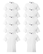 Hanes 5190P Men 6.1 Oz. Beefy-Tee  With Pocket 10-Pack at GotApparel