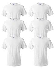 Hanes 5280 Unisex 5.2 Oz. Comfort Soft Cotton T-Shirt 6-Pack at GotApparel