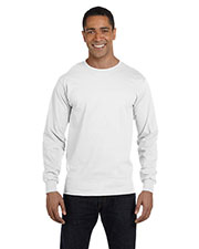 Hanes 5286 Men 5.2 Oz. Comfort Soft Cotton Long-Sleeve T-Shirt at GotApparel