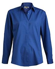 Edwards 5290 Women Cafe Long-Sleeve Shirt at GotApparel