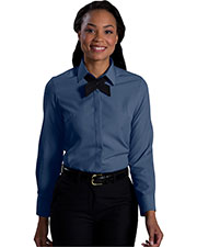 Edwards 5291 Women Long-Sleeve Batiste Cafe Blouse at GotApparel