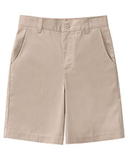 52943AZ Girls Plus Stretch Flat Front Short at GotApparel