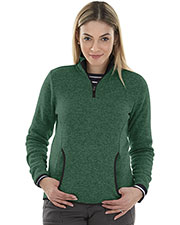 Charles River Apparel 5312 Women Heathered Fleece Pullover at GotApparel