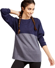 Soffe 5353V Women Junior Fanwear Crew at GotApparel