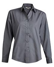 Edwards 5363 Women Long-Sleeve Broadcloth Shirt at GotApparel