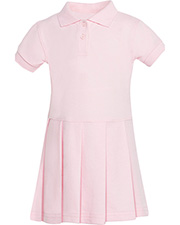 Classroom Uniforms 54120 Infants & Toddlers S/S Pique Polo Dres  at GotApparel