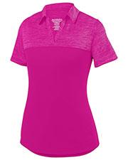 Augusta 5413 Women Shadow Tonal Heather Sport Shirt at GotApparel