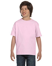 Hanes 5480 Boys 5.2 Oz. Comfort Soft Cotton T-Shirt at GotApparel