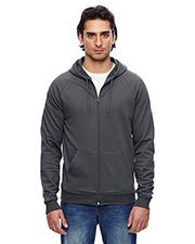 Custom Embroidered American Apparel 5497W Men 7.2 oz California Fleece Zip Hoodie at GotApparel