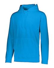 Augusta 5506 Boys Wicking Long Sleeve Warmup Fleece Hood Sweatshirt at GotApparel