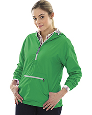 Charles River Apparel 5809 Women Ws Chatham Anorak Solid at GotApparel