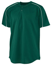 Augusta 585 Men Wicking 2-Button Baseball Jersey at GotApparel