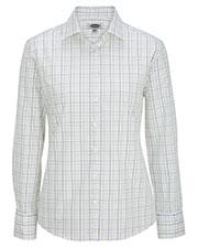 Edwards 5973 Women Long Sleeve Patterned Dress Shirt at GotApparel