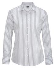 Edwards 5983 Women Long Sleeve Patterned Dress Shirt at GotApparel