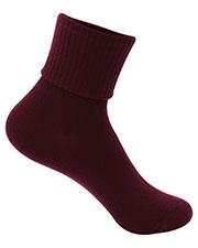5HF111 Girls/Junior Triple Roll Socks 3-PK at GotApparel