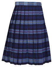 5PC5322A Girls Plaid Knife Pleat Skirt at GotApparel