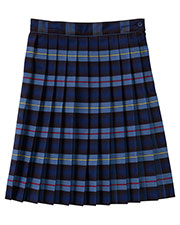 5PC5323A Girls Plus Plaid Knife Pleat Skirt at GotApparel