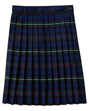 5PC5323A Girls Plus Plaid Knife Pleat Skirt at GotApparel