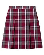 5PC5342A Girls Plaid Kick Pleat Skirt at GotApparel