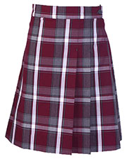 5PC5352A Girls Plaid Double pleated Scooter at GotApparel