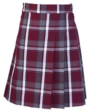 5PC5353A Girls Plus Plaid Double Pleated Scooter at GotApparel