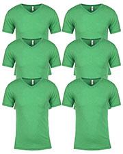 Next Level 6040 Men Tri-Blend V-Neck 6-Pack at GotApparel
