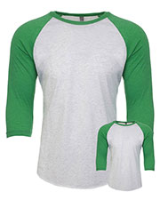 Next Level 6051 Unisex Tri-Blend 3/4-Sleeve Raglan T-Shirt 2-Pack at GotApparel