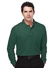 Tri-Mountain 609 Men Spartan Pique Pocketed Golf Shirt at GotApparel
