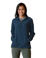 Vantage 6106 Women 's Pullover Stretch Anorak at GotApparel