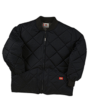 Dickies 61242T Men Diamond Quilted Nylon Jacket at GotApparel