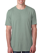 Next Level 6200 Men Poly/Cotton Short-Sleeve Crew Tee at GotApparel
